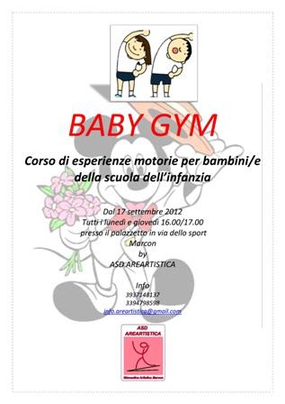 BABY GYM Locandina 001