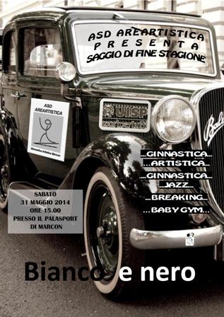 Locandina Saggio 31 Maggio 2014 Copia
