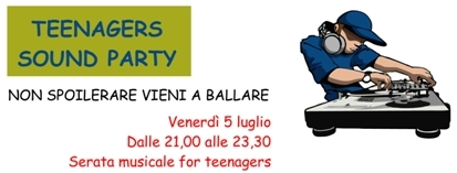 TEENAGERS SOUND PARTY