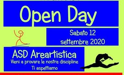 12 Settembre 2020 Open Day